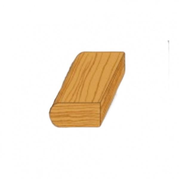 MAZTERDOOR ไม้เปอร์เซีย  ขอบเกร็ด ขนาด 3/8x3/4x2.5  M.0314