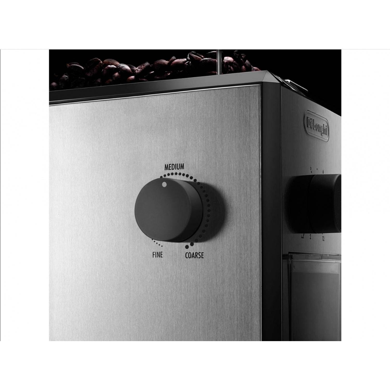 DELONGHI เครื่องบดเมล็ดกาแฟ  KG 89  สีโครเมี่ยม
