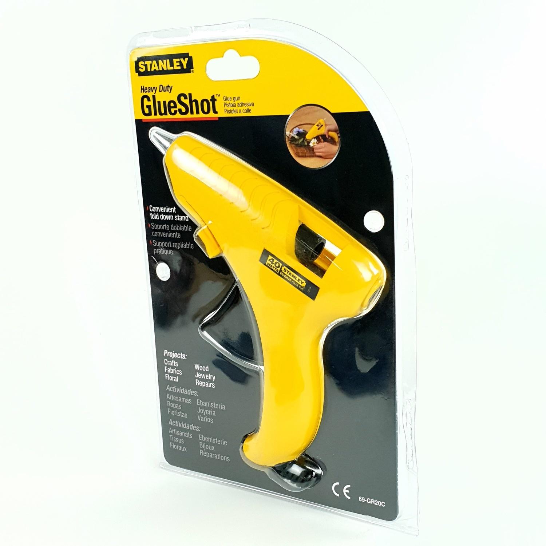 STANLEY ปืนยิงกาวไฟฟ้า ST69-GR20C สีเหลือง-ดำ