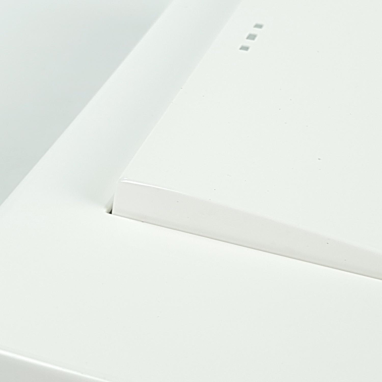 Gentec สวิตช์สองทางใหญ่ 1 ช่อง 120W-04 สีขาว