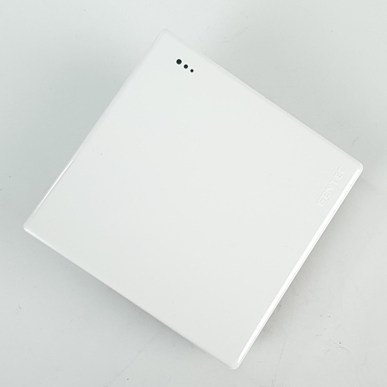 Gentec สวิตซ์ทางเดียว 86W-01 สีขาว