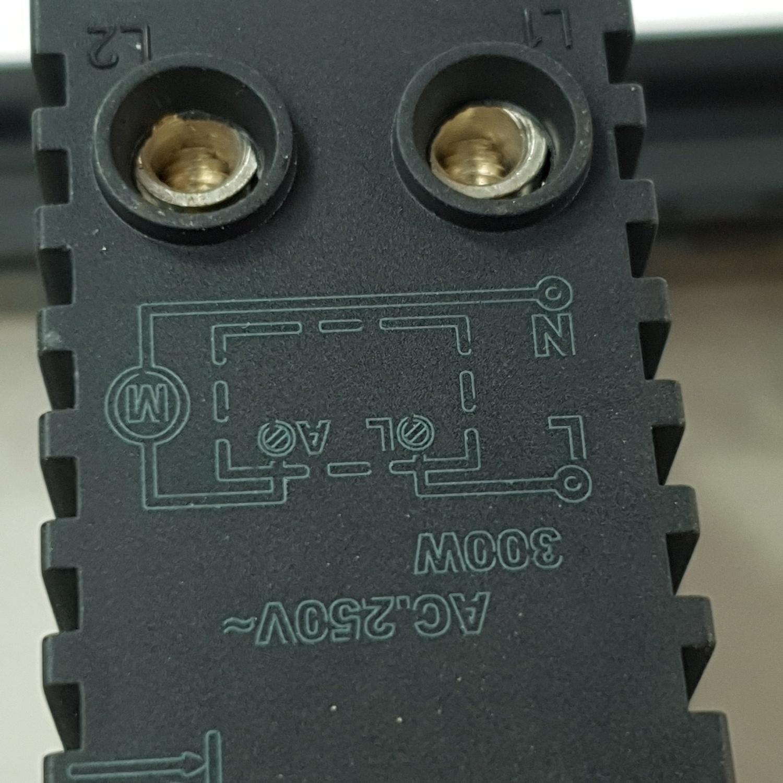 Gentec สวิตซ์ไฟหรี่ 120G-21 สีเทาดำ เทาเข้ม