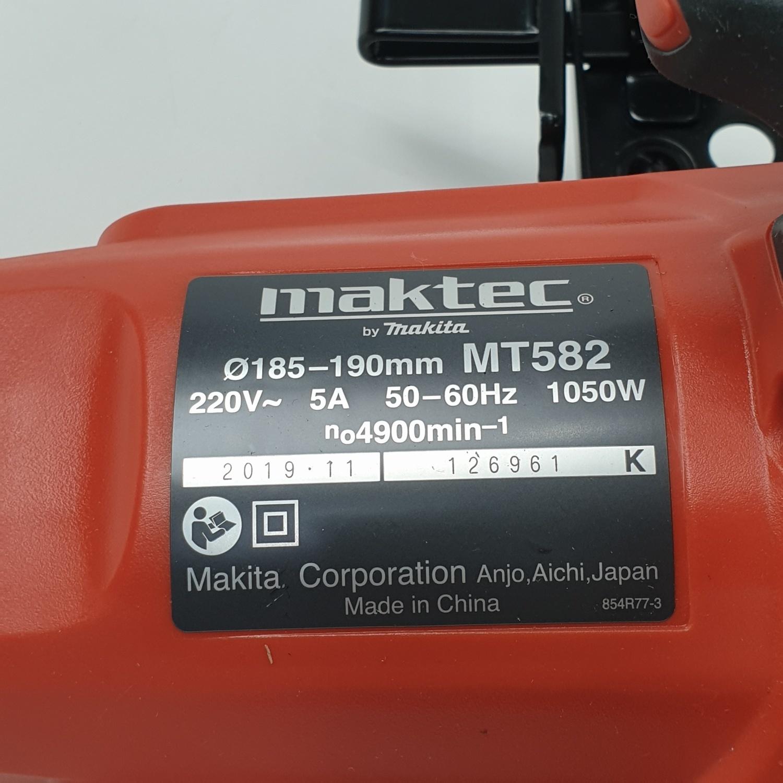 MAKTEC เครื่องเลื่อยวงเดือน 7 1,050W MT-582 สีส้ม