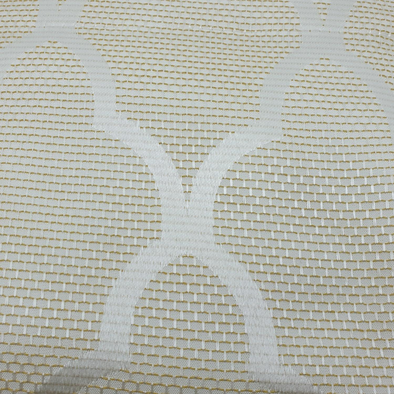 Davinci ผ้าม่านหน้าต่างพิมพ์ลาย ขนาด 140x160ซม. A71448RR #1WD สีเหลือง