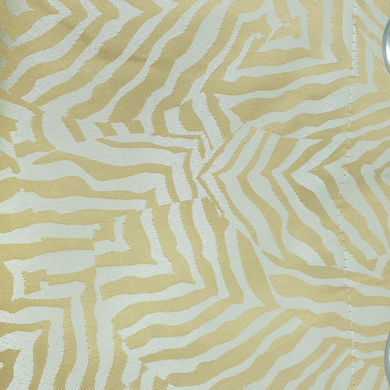 Davinci ผ้าม่านหน้าต่างพิมพ์ลาย A71433TT #4WD สีเหลือง