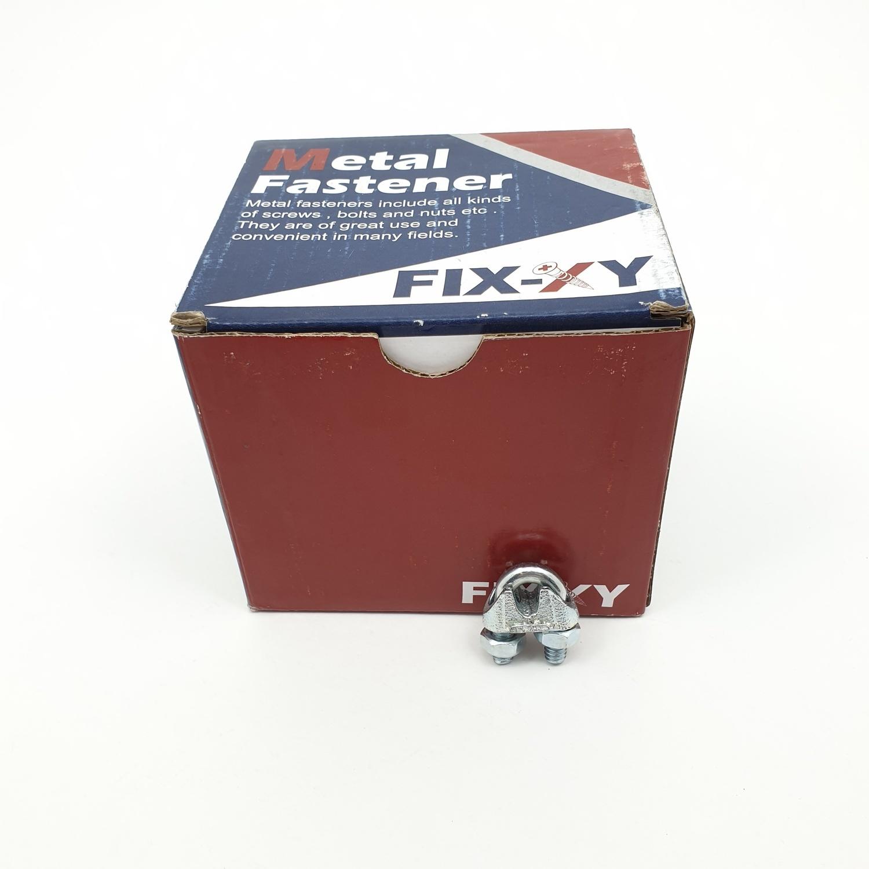 FENIX กิ๊ปจับสลิง 3/16 (70 ชิ้น/กล่อง) EQ-002-B สีโครเมี่ยม