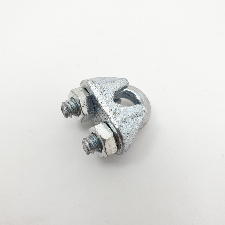FIX-XY กิ๊ปจับสลิง 1/8 (70ชิ้น/กล่อง) EQ-001-B สีโครเมี่ยม