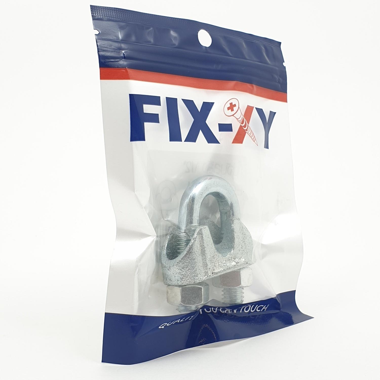 FIX-XY กิ๊ปจับสลิง 1/2 (1ชิ้น/แพ็ค)  EQ-007-M