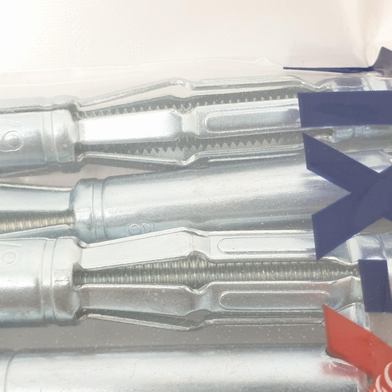 FIX-XY พุกเหล็กยิบซั่ม 6x88mm.   EI-014 (5ชิ้น/แพ็ค)