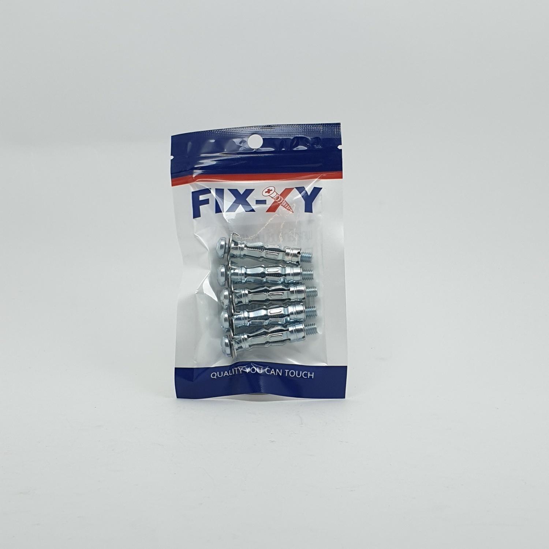 FIX-XY พุกเหล็กยิบซั่ม 6x45mm. (5ชิ้น/แพ็ค)  EI-011