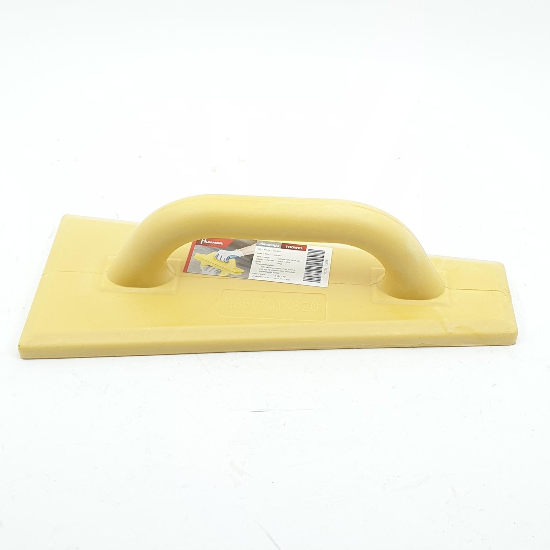 HUMMER เกียงฉาบปูน ขนาด 13.5*32cm   YDH007  สีเหลือง