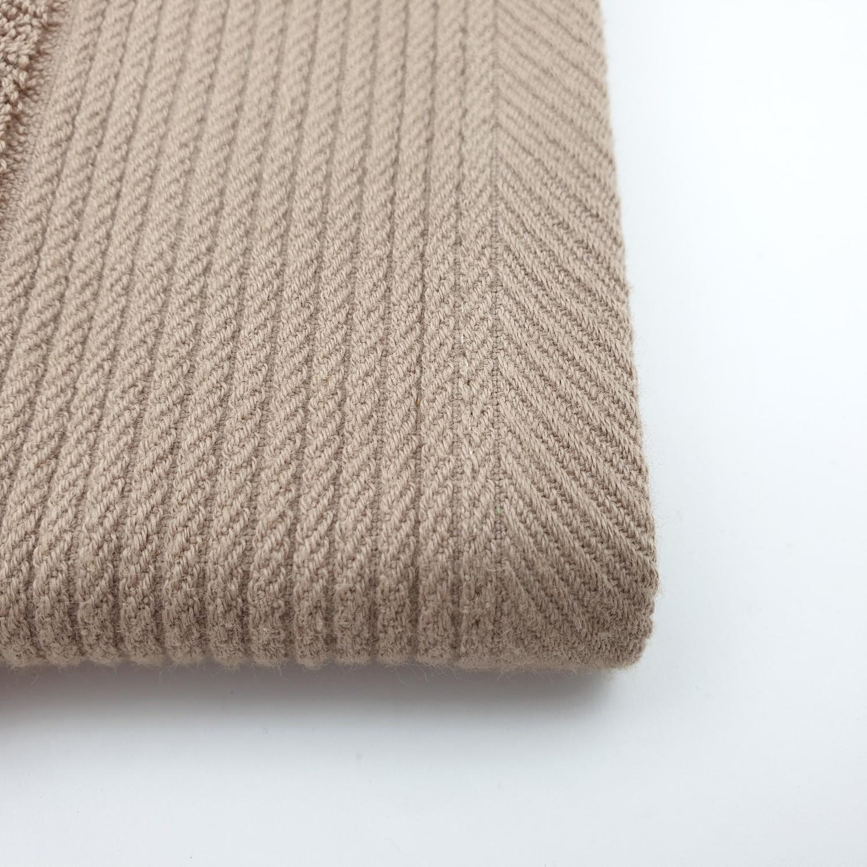 COZY ผ้าขนหนูผ้าฝ้าย 34×34 ซม. GFF002-BR สีน้ำตาล