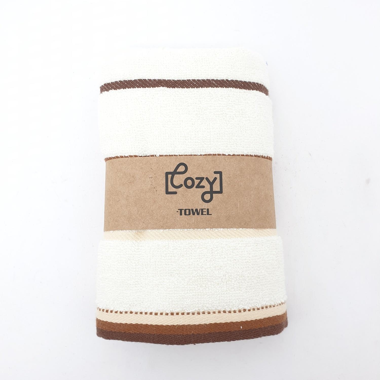 COZY ผ้าขนหนู ขนาด 34x75ซม. GTL003-YE สีเหลือง