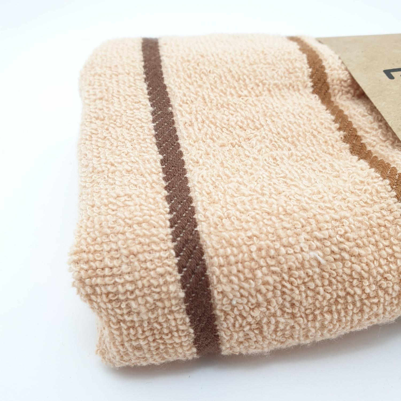 COZY ผ้าขนหนู ขนาด 34x75ซม. GTL003-BR สีน้ำตาล