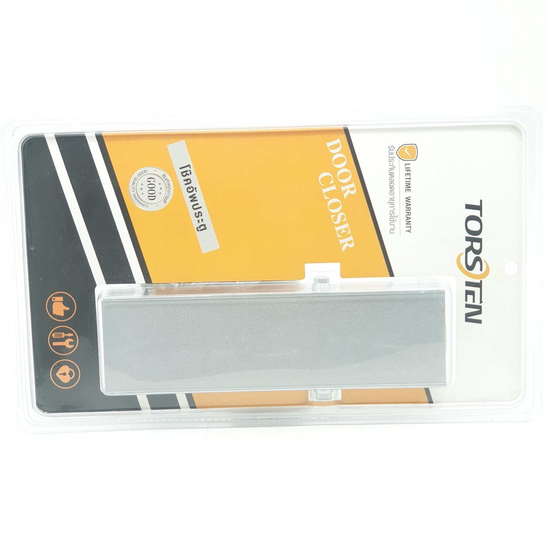 TORSTEN โช๊คอัพประตู 45-75 กก.  PQS-BX882 สีโครเมี่ยม