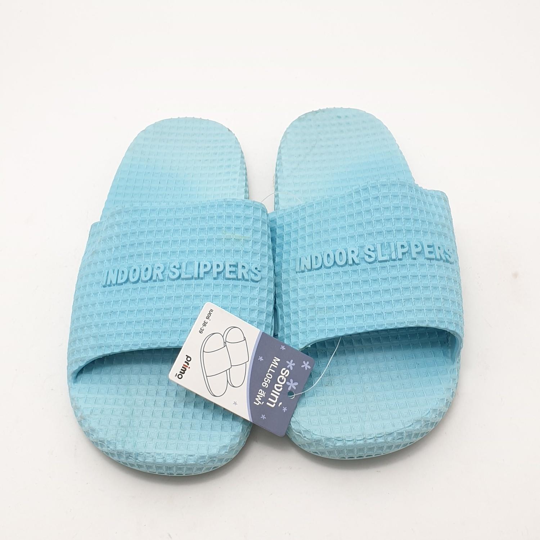 PRIMO รองเท้าแตะ PVC เบอร์38-39 MLL056 สีฟ้า