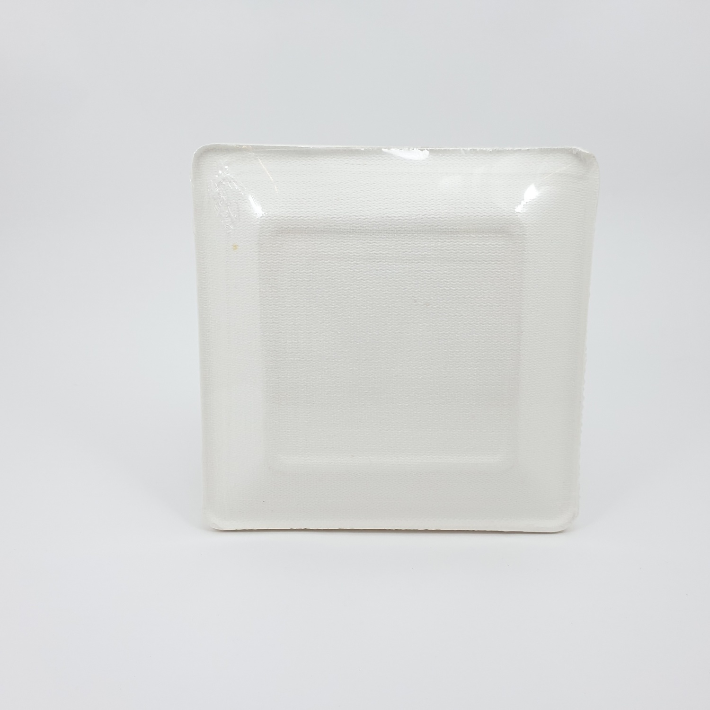 Nibiru จานเหลี่ยม ขนาด 6 นิ้ว FJDB028 10ใบ/แพ็ค