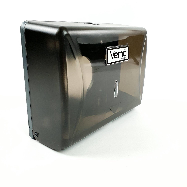 VERNO กล่องกระดาษเช็ดมือ PQS-OB8101C สีดำ