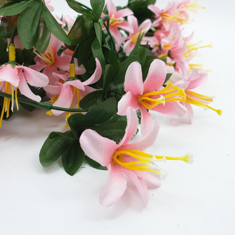 Tree O ดอกไม้ประดิษฐ์ ขนาด 80ซม.  HZGY-017 สีขาว
