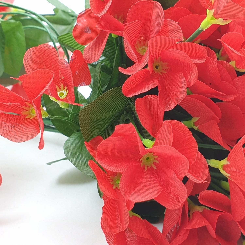 Tree O ดอกไม้ประดิษฐ์ 80ซม. HZGY-020  ขาว