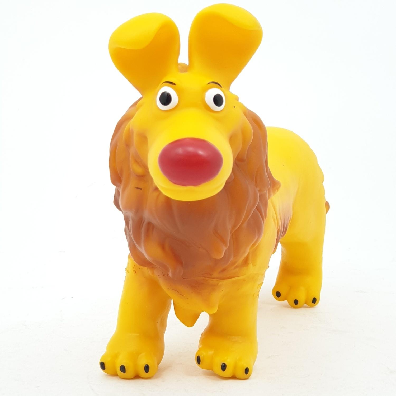 Sanook&Toys สัตวเลี้ยงการ์ตูนขนาด  9 นิ้ว  X777-6 สีเหลือง