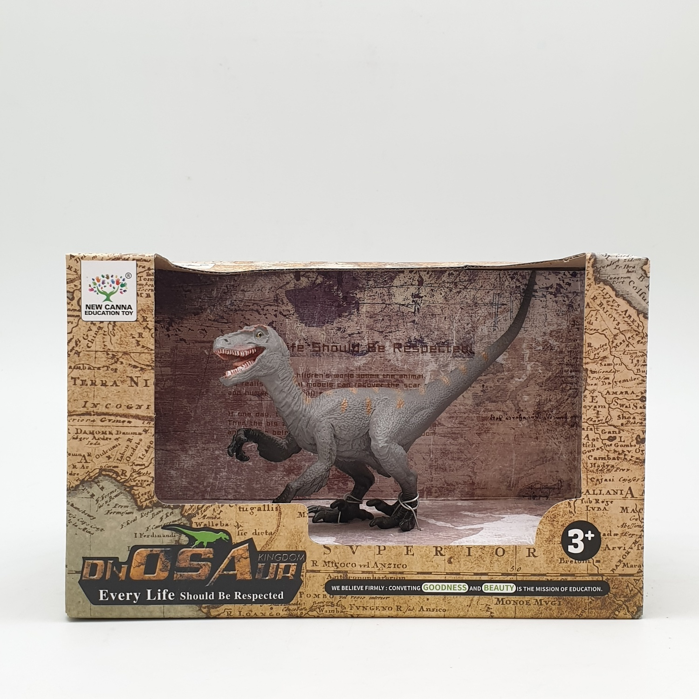 Sanook&Toys ไดโนเสาร์ The New Rogue Dragon  X3063  สีเทาอ่อน