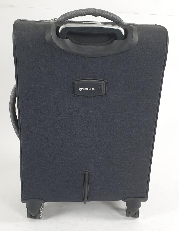 WETZLARS กระเป๋าเดินทางผ้า ขนาด 24 นิ้ว B-346BK-2 สีดำ