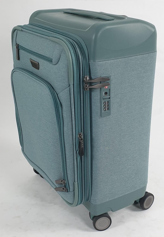 WETZLARS กระเป๋าเดินทางแบบผ้า  ขนาด 20 นิ้ว ATW005GN-1 สีเขียว