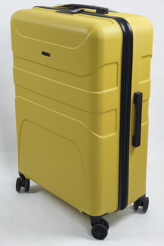 WETZLARS  กระเป๋าเดินทาง ABS ขนาด 20 นิ้ว CTH0011-1  สีเหลือง