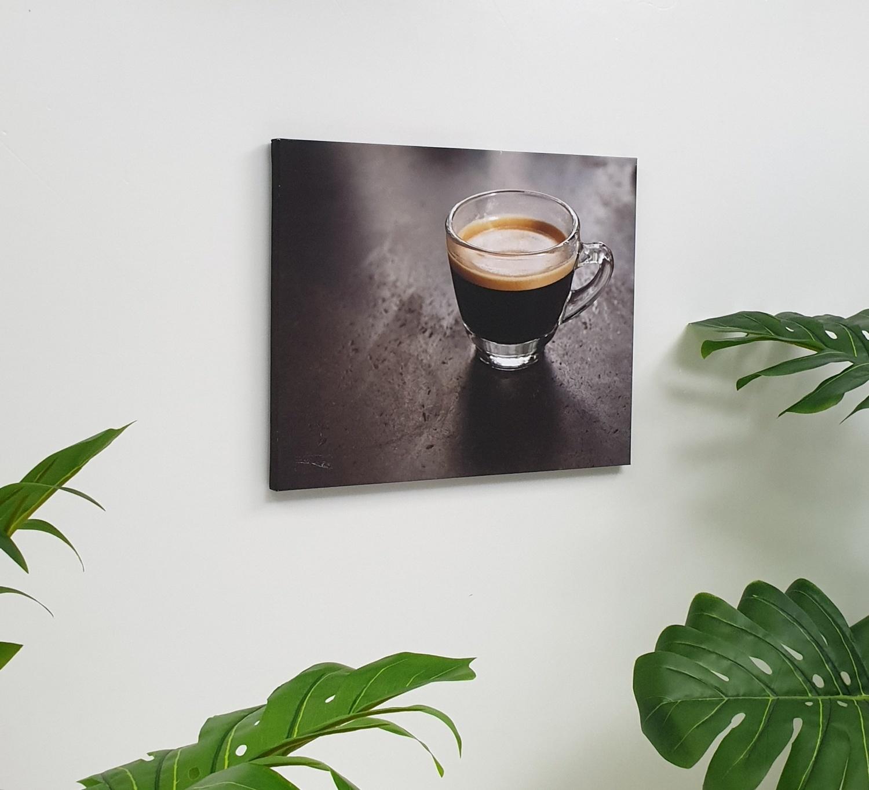 NICE รูปภาพพิมพ์ผ้าใบ Coffee Shop ขนาด 40x50ซม. (ก.xส.) C5040-2