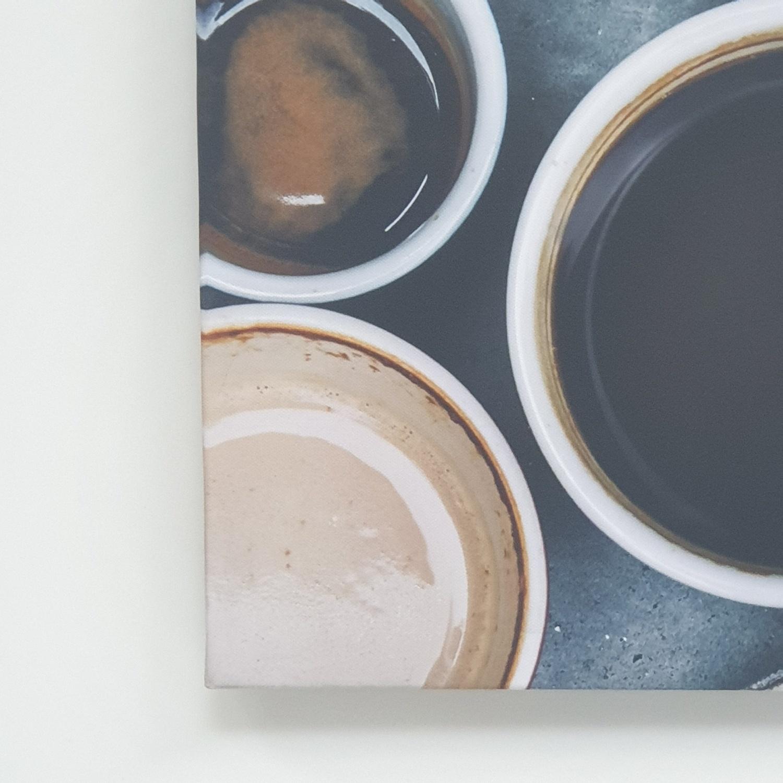 NICE รูปภาพพิมพ์ผ้าใบ Coffee Shop ขนาด 60x40ซม. (ก.xส.) ( Art coffee) C5040-5