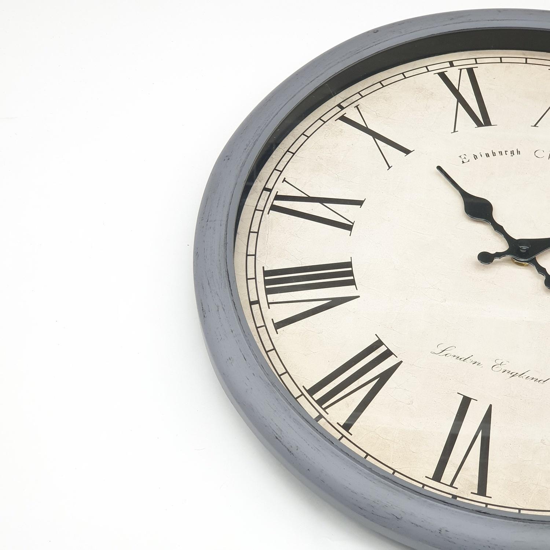 COZY COZY นาฬิกาติดผนัง 40ซม. รุ่น BY012  ขาว