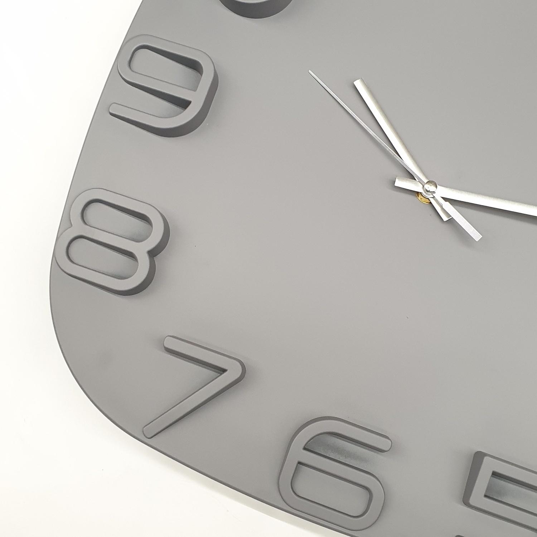 COZY  นาฬิกาติดผนัง 40ซม.  BY006 สีขาว