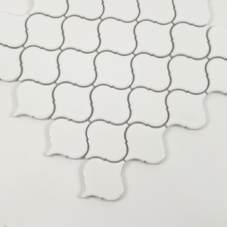 Marbella  โมเสค 31.6x27.7x0.5cm   อรีน C0308TC สีขาว