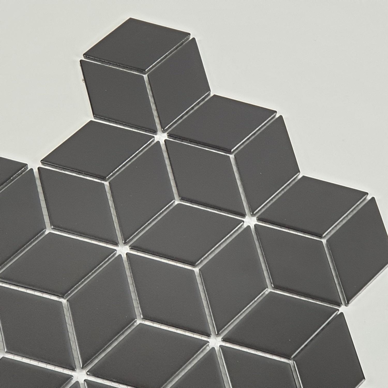 Marbella โมเสค 30x30x0.6cm ทาลาฟ C0301TC สีดำ
