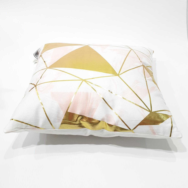COZY หมอนอิง ขนาด 43×43×8ซม.   CY15 สีทอง