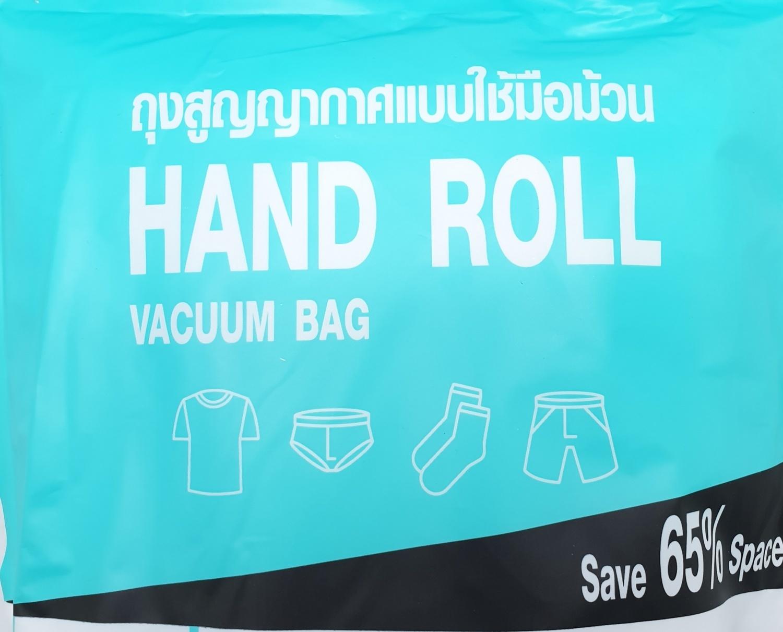 SAKU  ถุงสูญญากาศแบบใช้มือม้วน ขนาด 30x40x0.08ซม. สีใส แพ็ค 5 ชิ้น  BCY035