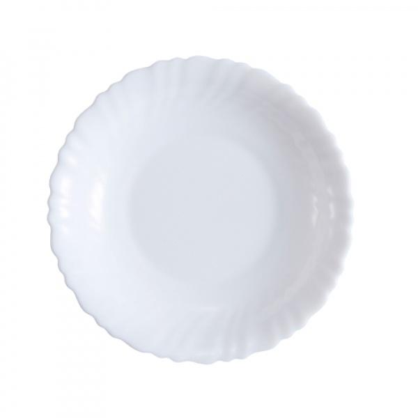 ADAMAS จานก้นลึกโอปอลขอบริ้ว ขนาด 7.5 นิ้ว HBSP75-496