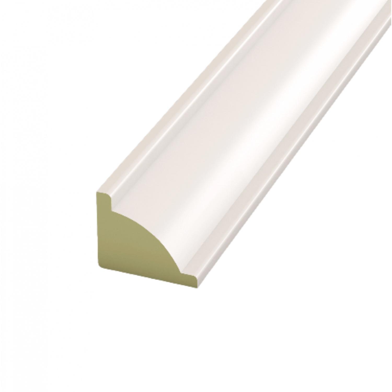 GREAT WOOD ไม้บัวครอบมุม PVC  ขนาด  18x15x2700mm. WH05 FCN-0183A