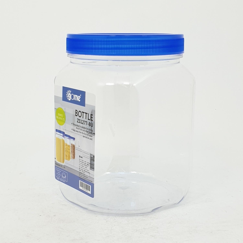 GOME ขวดโหลพลาสติกทรงกลม  ZS1277-BU 1200ML.