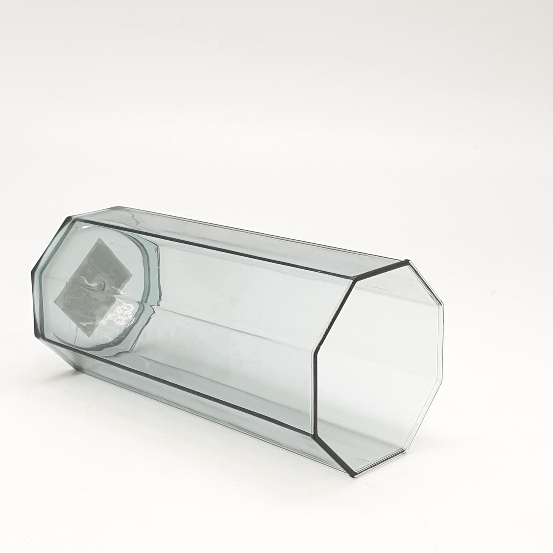 GOME แก้วพลาสติก 450ML ขนาด 6.7x7.3x14.6 ซม. ZS8014 สีเทาอ่อน
