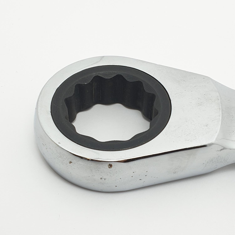 HAMMER ประแจแหวนฟรีปากตาย เบอร์32 - สีโครเมี่ยม