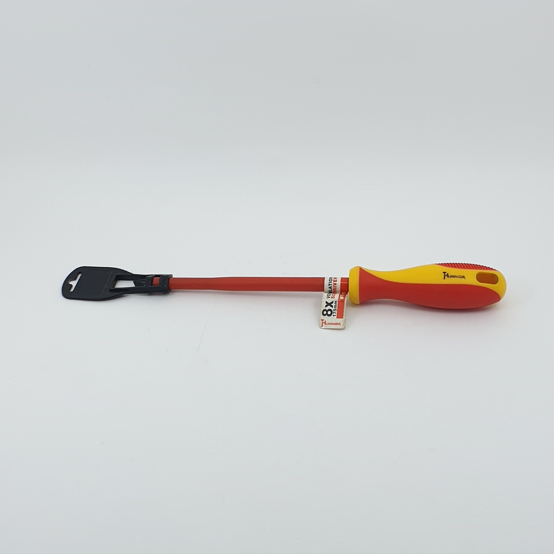 HUMMER ไขควงปากแบนหุ้มฉนวน ขนาด 8X175mm WT-925