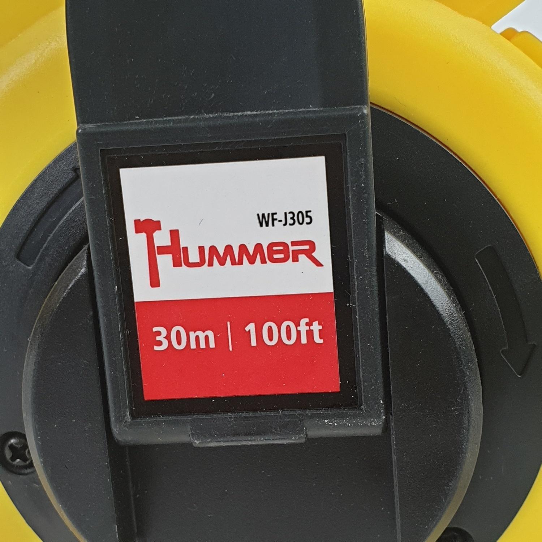 HUMMER  เทปเหล็กวัดระยะ 30เมตร   WF-J305
