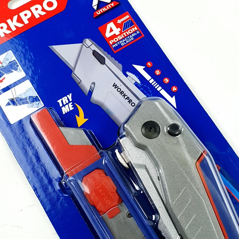 WORKPRO มีดกรีดพับได้  W011031