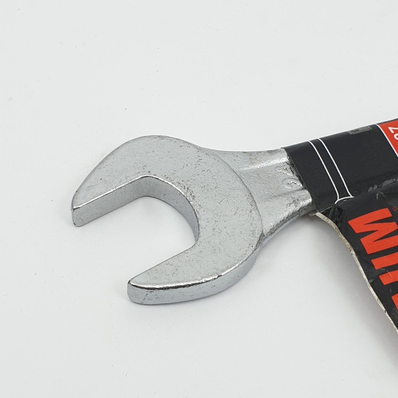 BAUM ประแจปากตาย 24x27mm. Art-12 Carbon-Steel สีโครเมี่ยม
