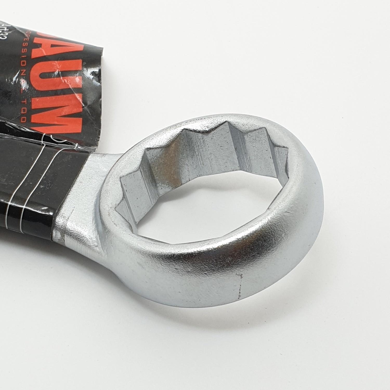 BAUM ประแจแหวนข้างปากตาย  29 mm. Art-33 สีโครเมี่ยม