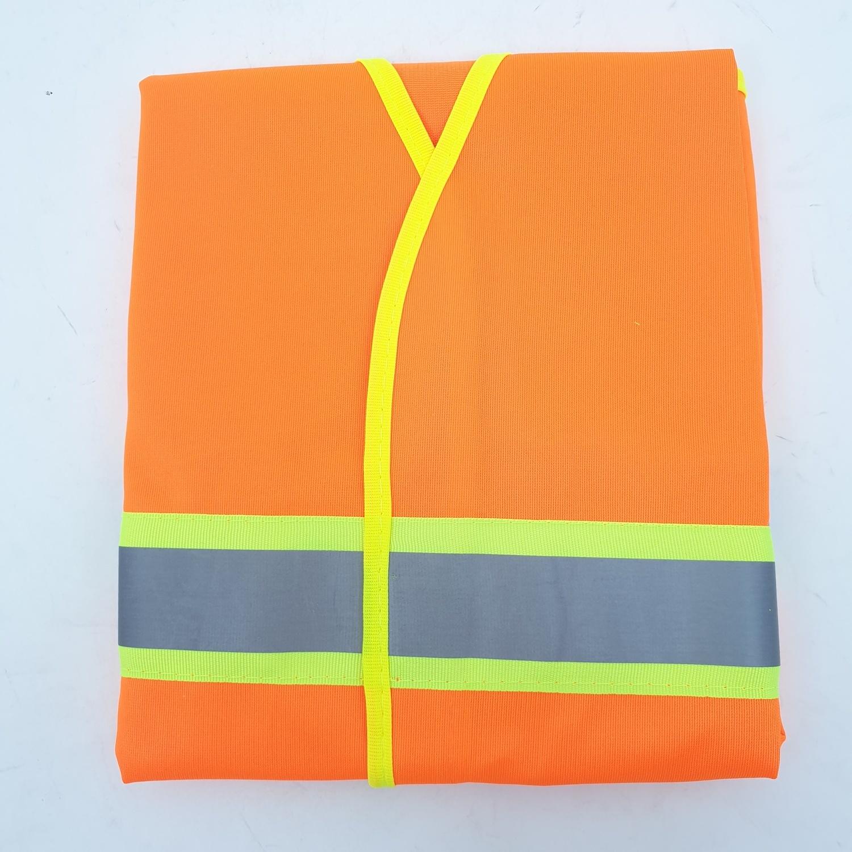 Protx เสื้อจราจรสะท้อนแสง ขนาด L    Z0024-J1L  สีส้ม