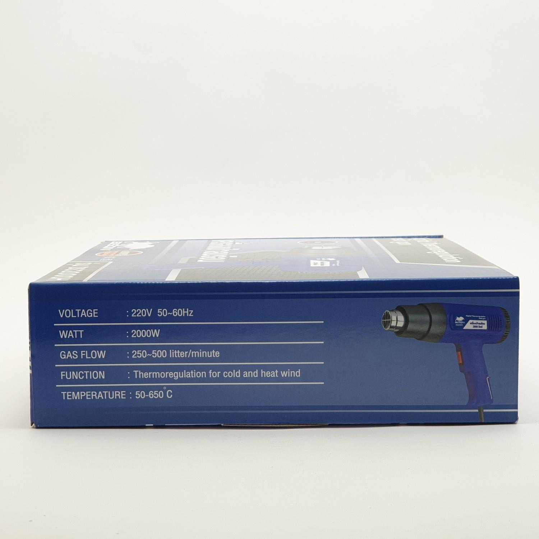 BISON  เครื่องเป่าลมร้อน 2000วัตต์  DS2000H สีน้ำเงิน