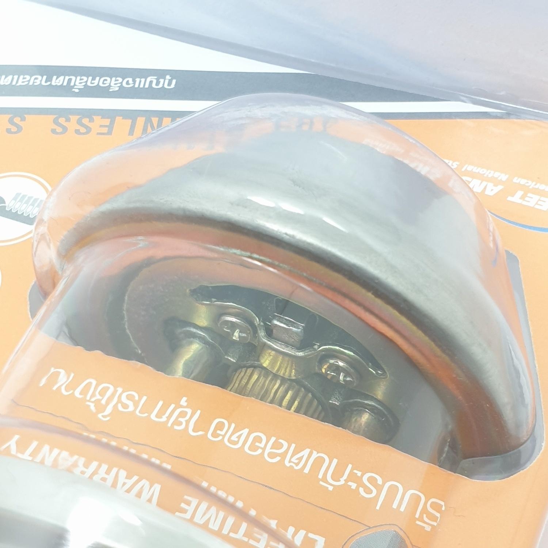 TOSTEN กุญแจล็อคลิ้นตายสเตนเลส 304 รุ่น D101-SS สีสเตนเลส TORSTEN D101-SS
